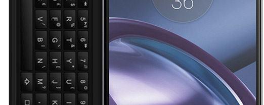 Keyboard Go, um Moto Snap que adiciona um teclado físico ao seu Moto Z