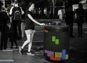 TretraBin, uma lixeira inspirada no Tetris