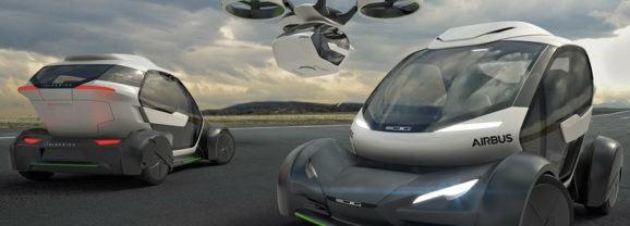Pop.Up, um conceito de veículo modular da Airbus que provavelmente nunca será fabricado
