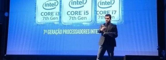 Intel apresenta sétima geração dos processadores Core no Brasil