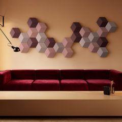Beosound Shape: coloque sua música na parede em módulos hexagonais!