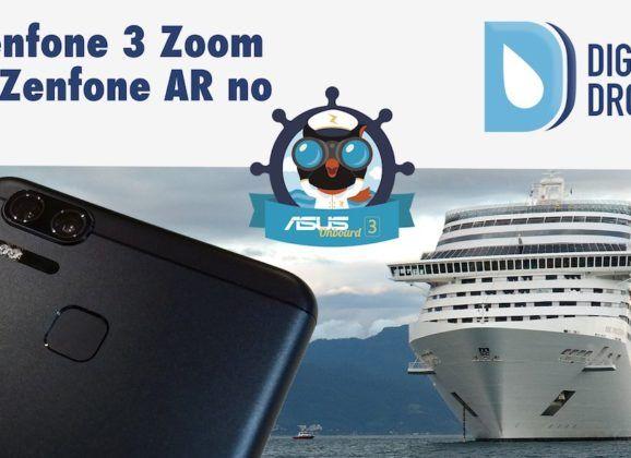 Zenfone 3 Zoom e Zenfone AR no Asus Onboard 3 – Estreia do canal do DD no YT!