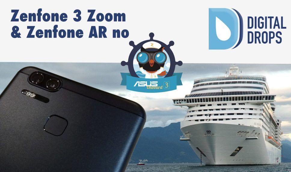 Zenfone 3 Zoom e Zenfone AR no Asus Onboard 3 – Estreia do meato do DD no YT! 1