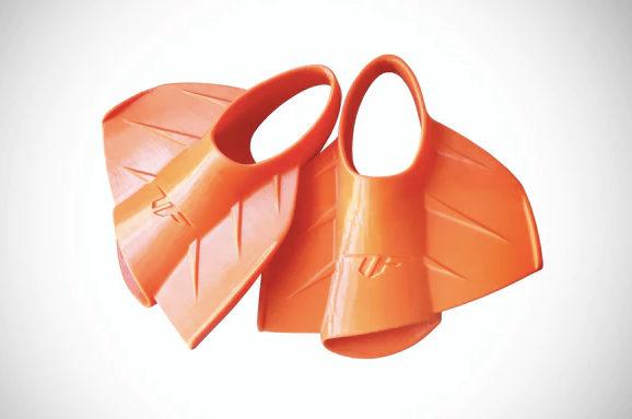 Nadadeiras que também podem ser usadas pra andar em terra firme