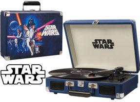 Toca-Discos Portátil Star Wars