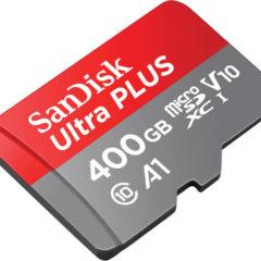 Sandisk apresenta o meu novo sonho de consumo: cartão microSD de 400GB!