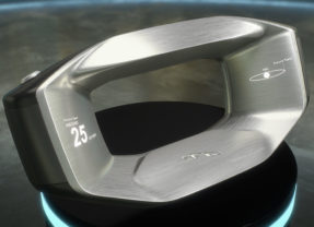 Volante da Jaguar parece saído de um filme de Sci-Fi