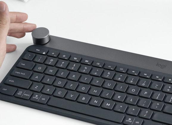 Logitech Craft, um teclado com controle dial para tarefas de precisão