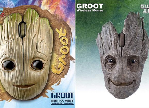 Mouses do Groot para fãs de Guardiões da Galáxia