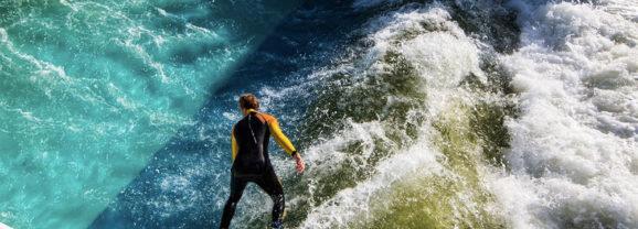 Unit Surf Pool, uma piscina de ondas artificiais para o seu lago favorito!