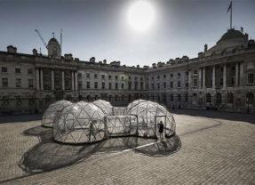 Pollution Pods: exibição simula ar poluído de Nova Delhi, Pequim, Londres e SP