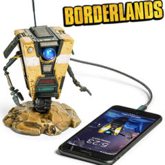 Hub USB Claptrap Falante do Game Borderlands