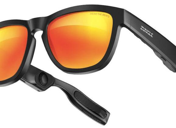 Óculos de Sol Zungle com AI e fones de ouvido por condução óssea