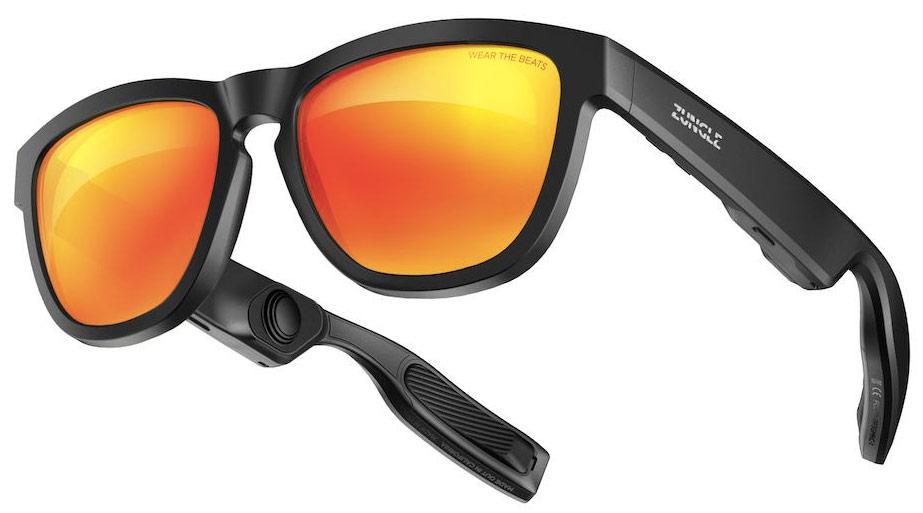Os óculos de sol Zungle funcionam com o seu smartphone via Bluetooth 5.0, e  podem acionar a Siri ou o assistente do Google para fazer ou receber  chamadas ou ... 578d26536e