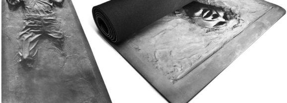 Tapete de Yoga com Han Solo congelado em Carbonite