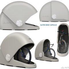 Garagem de Bicicletas com Cápsula Virtualmente Indestrutível!