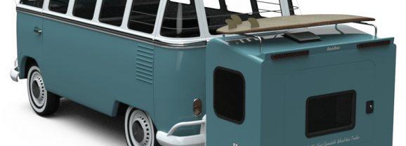 Hitch Hotel, um trailer sem rodas perfeito pra quem vive na estrada