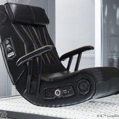 Cadeiras Darth Vader e Stormtrooper com sistema de som Bluetooth