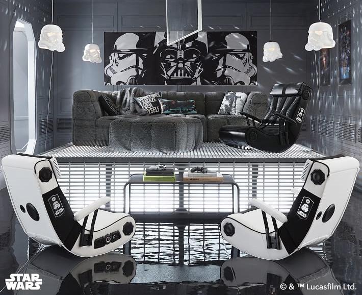 Cadeiras Star Wars –Darth Vader e Stormtrooper
