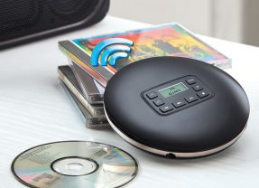 "CD Player ""The Only"" Wireless com conexão sem fio Bluetooth"