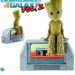 Caixa de Som Bluetooth Dancing Groot Speaker (Guardiões da Galáxia Vol 2.)