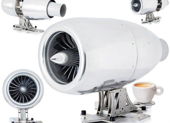 Máquina de café expresso Jet Engine custa 15 mil dólares!