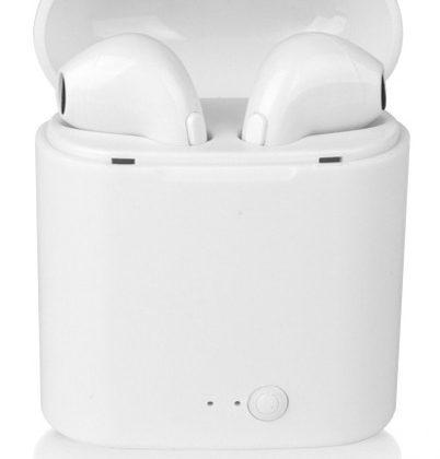 Fones de ouvido Bluetooth i7s: genéricos por natureza