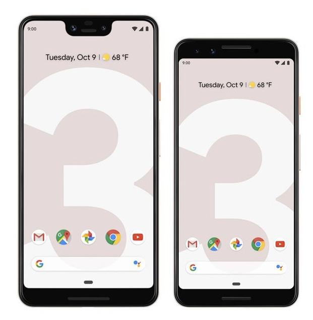 Google apresentou hoje o Google Pixel 3 e o Pixel 3 XL