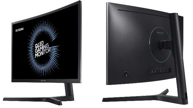 "QLED Gaming monitor da Samsung de 24"""