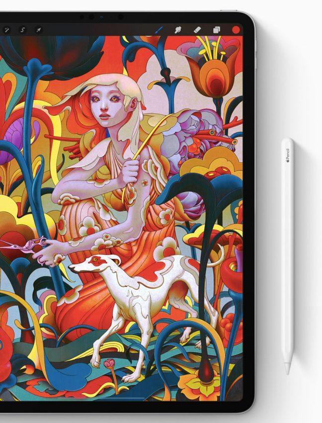 Apple Pencil também ganhou nova versão pra ser usada com o iPad Pro
