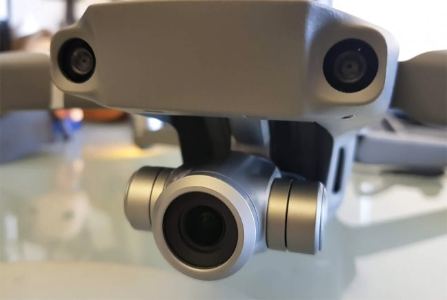 Câmera do Mavic 2 Zoom