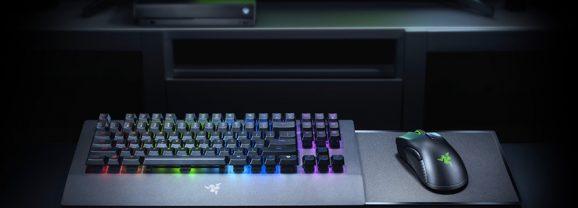 Razer Turret, mouse e teclado sem fio criados para o Xbox One