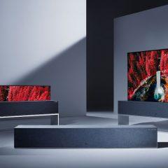 Signature Series OLED TV R, a TV enrolável da LG