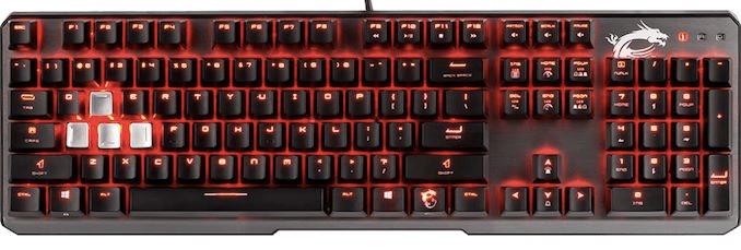 Novo teclado Vigor GK60 da MSI apresentado na CES 2019