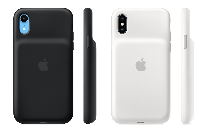 Novos cases com bateria da Apple para iPhone XS, XS Max e XR
