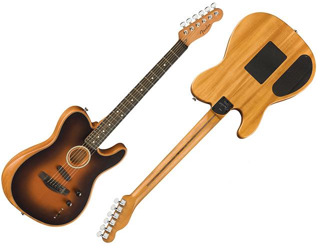 American Acoustasonic Telecaster da Fender