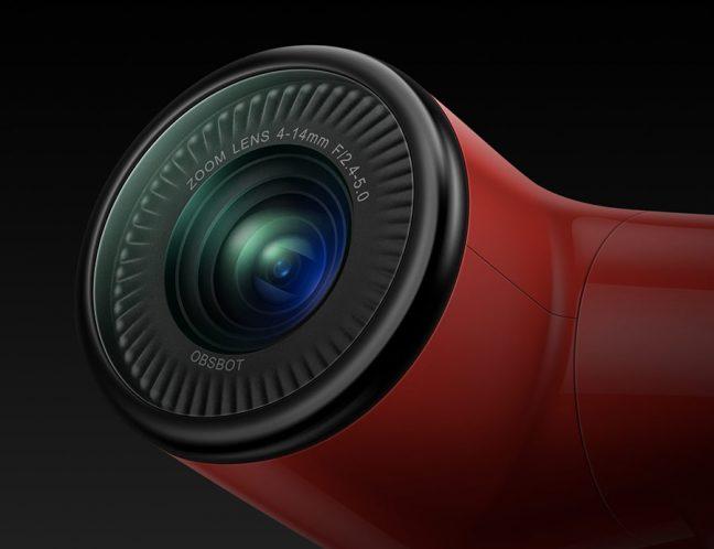 Obsbot Tail, uma câmera com gimbal, zoom automático e inteligência artificial