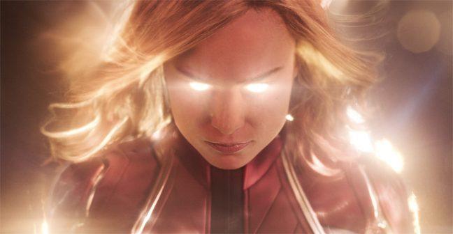 Brie Larson brilha como Capitã Marvel