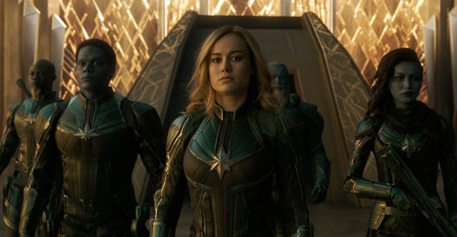 Brie Larson e sua turma