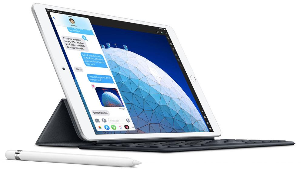 Apple apresentou hoje novos modelos do iPad Air e do iPad Mini, agora equipados com processador A12 Bionic, o mesmo dos novos iPhones