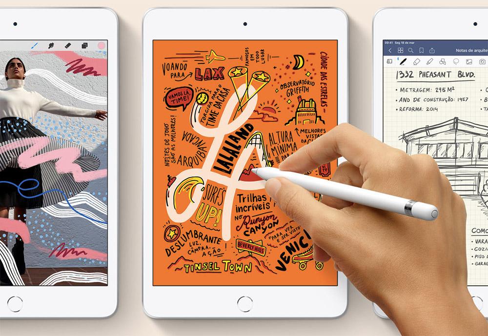 Apple apresentou hoje novos modelos do iPad Mini e do iPad Air, agora equipados com processador A12 Bionic, o mesmo dos novos iPhones