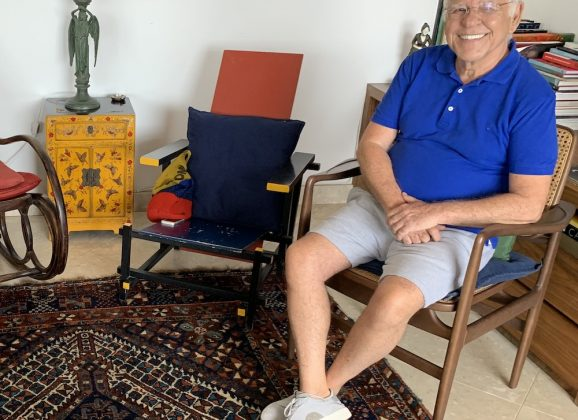 DD em casa com Nelson Motta