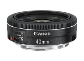 Canon EF 40mm f/2,8 – pequeno review