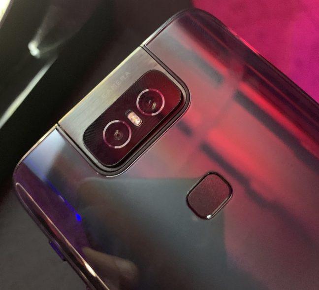 Câmera Flip do Zenfone 6