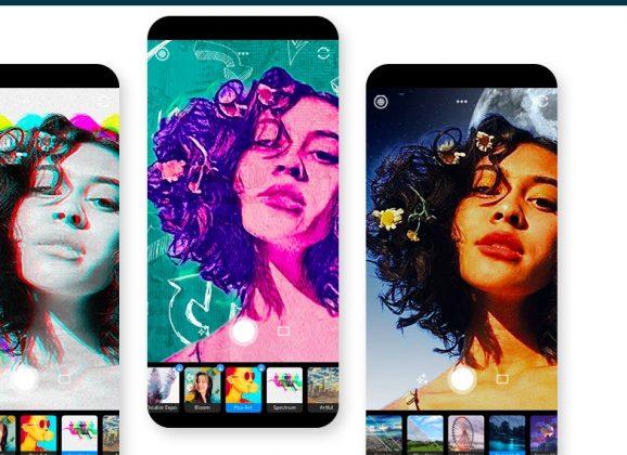Photoshop Camera, um app que usa inteligência artificial para aplicar efeitos em fotos