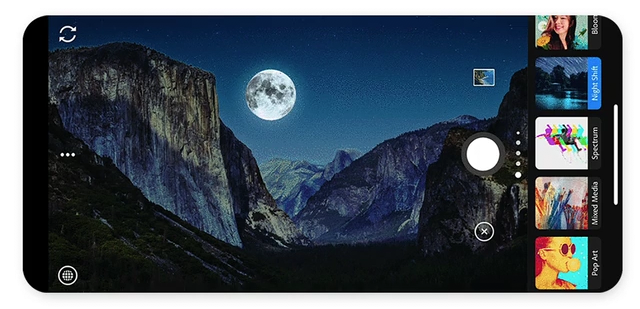 Novo app Adobe Camera