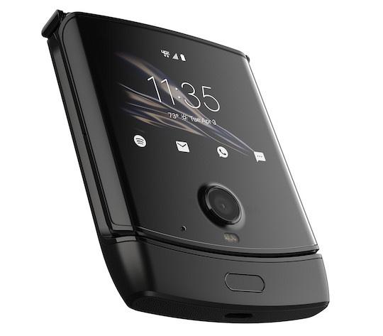 Novo Motorola Razr fechado