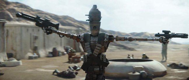 IG-11 tem participação explosiva no primeiro episódio de O Mandaloriano