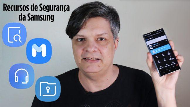 Capa do vídeo Recursos de Segurança da Samsung