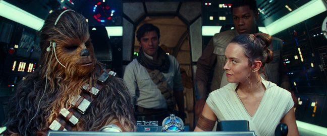 Chewie e Rey
